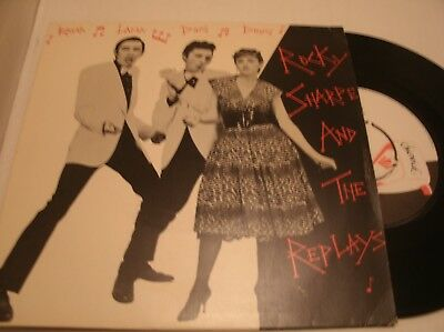 Rocky Sharpe & The Replays - Ram-A-Lam-A Ding Dong Uk 1979 + Pic
