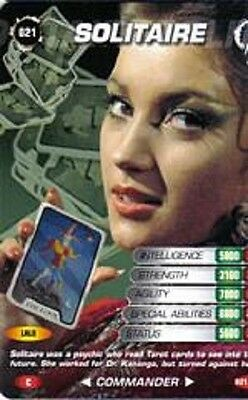 James Bond 007 Spy Cards SOLITAIRE Trading Card # 21 COMMON Jane Seymour