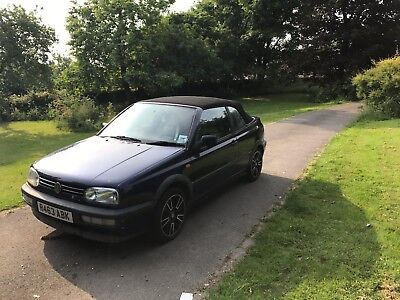 Volkswagon VW Golf Convertible | Long MOT | Project