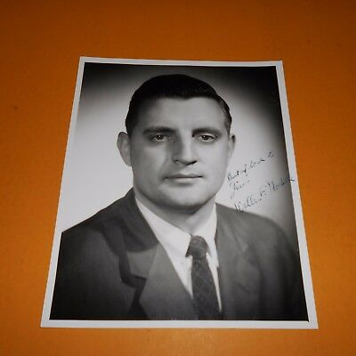 Fritz Mondale is an American politician Hand Signed Photo