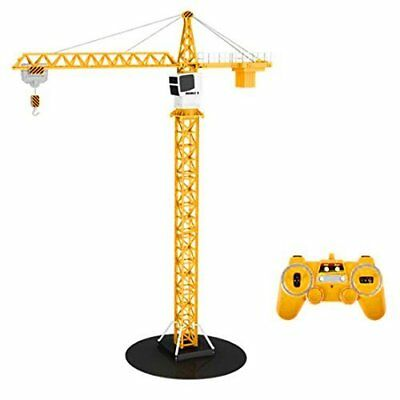 RC Tower Crane 40 inch Kids Toy Construction Industrial 2.4GHz Remote Control