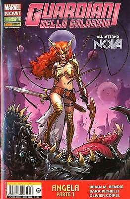 The Guardians della galassia 7 marvel now panini NEW rare esaurito BALLOON