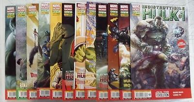 MARVEL NOW - L'INDESTRUCTIBLE HULK 1/14 complete series 2 3 5 6 7 8 9 0 peA6