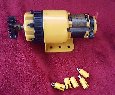 MECCANO 6 SPEED 3v - 12v ELECTRIC MOTOR . WORKING ORDER