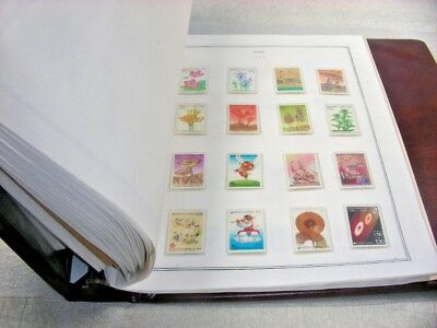 KOREA, maj MINT!,  Excellent Stamp Collection hinged/mounted on pages & in other