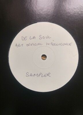 De La Soul ‎– Art Official Intelligence: Tommy Boy ‎– US White Label Promo