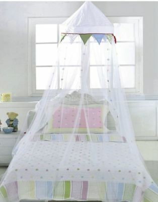 IKEA FABLER childs bed canopy nursery - craft style - NOS