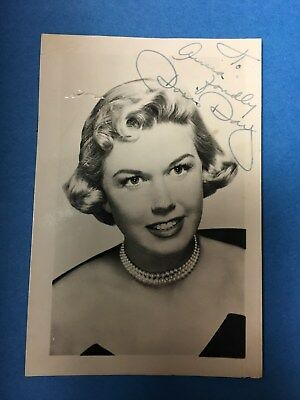 Doris Day, Vintage Autographed Photograph, Early in Career