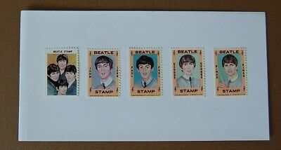 The Beatles. Full set of 5 Hallmark Stamps. 1964. USA. In Mint- Condition.