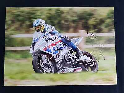 Guy Martin 'One-Off' Signed High Quality A3 Original Print on Canon Media