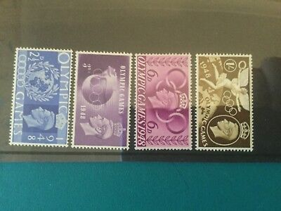 Gb mint stamps (r49) 1948 Olympic Games