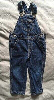 M&S Denim Dungarees 18-24 Months