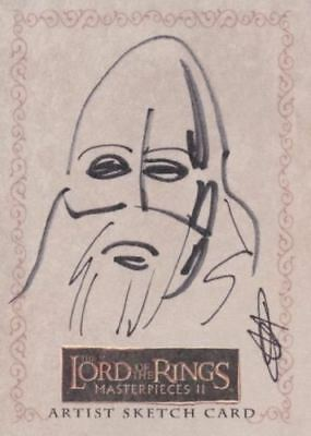 Lord of the Rings Masterpieces Series Two Artist Sketch Card