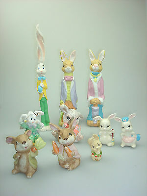 Vintage LOT EASTER BUNNY RABBIT COLLECTION !
