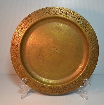 Tiffany Studios Circle Tray Design Border - 1737