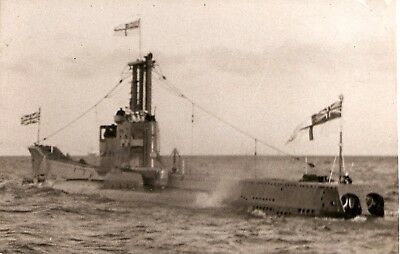 ROYAL NAVY.,  HMS ANCHORITE,  P422.,   c1950s.,  Amphion  class Submarine