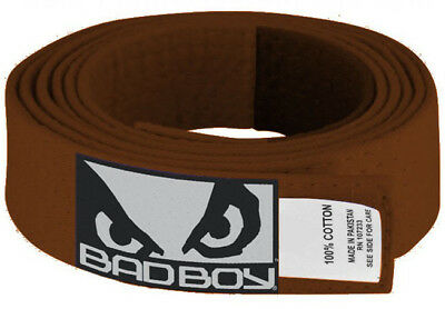 Bad Boy BJJ Brown Belt with Patch