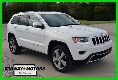 2016 Jeep Grand Cherokee Limited 2016 Limited Used 3.6L V6 24V Automatic SUV