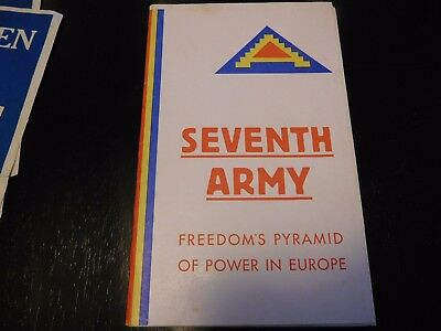 1954 History of the Seventh Army History World War II WWII Europe
