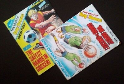 """The Best Of """"roy Of The Rovers"""" Monthly -May 1988 & May 1989"""
