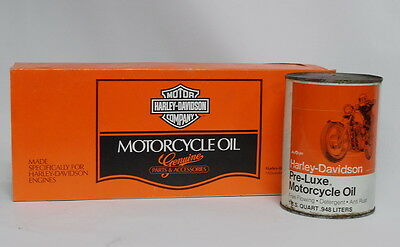 LOT 3 Vintage AMF Harley Davidson Pre-Luxe Motorcycle Oil Lot  w/ Sleeve