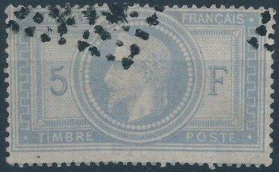 (10885) FRANCE - Yvert 33a, used, see scan, CV € 1250