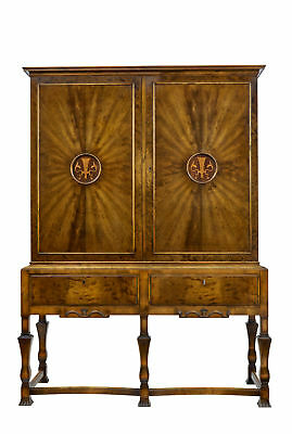 Stunning Art Deco Swedish Birch Grace Cabinet