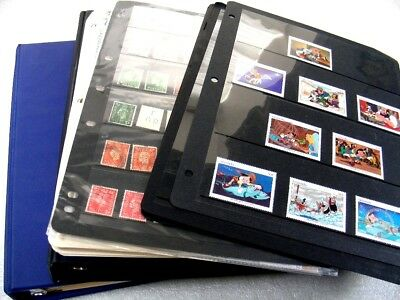 BRITISH COLONIES, Disney, Accumulation of Stamps in stock sheets, pages, & other