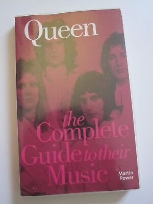 Queen  :  The Complete Guide To Their Music - 2005 Paperback Book - Martin Power