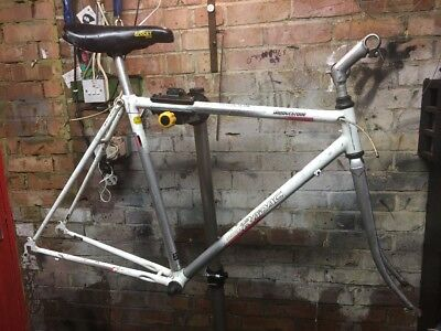 Bridgestone Radac Road Bike Frame Race Vintage Retro 80s Bonded Aluminium Steel