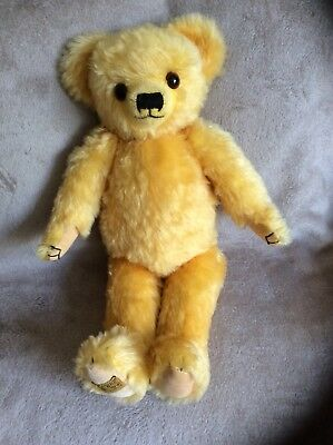 Merrythought mohair teddy bear Crispin