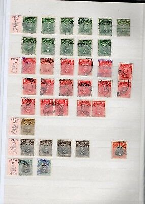Southern Rhodesia 1931-1964 Extensive Collection On 11 Sides - Good To Fine Used