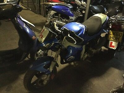 Gilera DNA 2003  spares or repair frame engine project