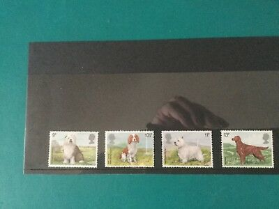 Gb mint stamps (r9) 1979 Dogs.