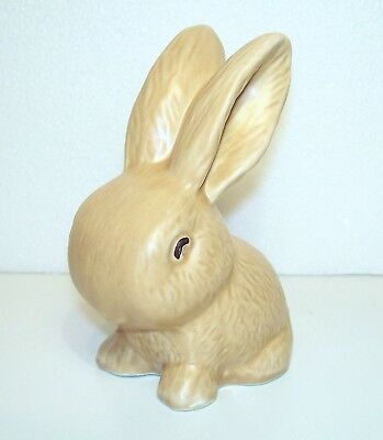 SYLVAC POTTERY~~Beige~~SNUB NOSED RABBIT~~Figurine~~990