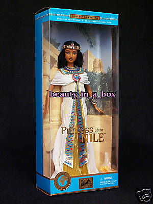 PRINCESS OF THE NILE Cleopatra Dolls of the World Culture Cultural Barbie Doll