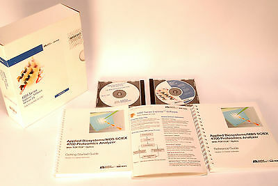 Applied Biosystems MDS Sciex 4000 Series Explorer Software Version 3.6 f. 4700