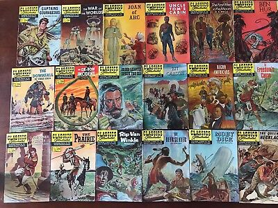 Classics Illustrated 25 Cent Comics - Lot of 27