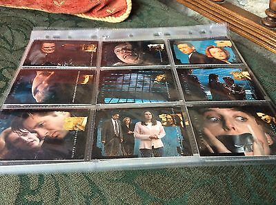 The X Files The Truth Is Out There Set Trading Cards In Plastic Wallets/sleeves