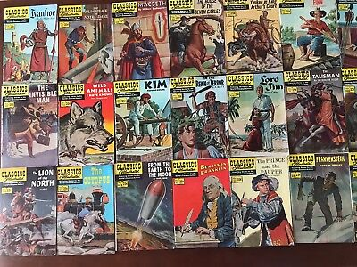 Classics Illustrated 25 Cent Comics - Lot of 28