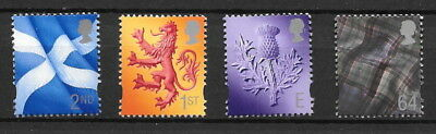 GB Stamps - QEII - Scotland definitives - Issued 14 June 1999