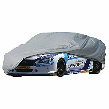 Silverline Car Cover 4820 x 1190 x 1770mm (l) - Large 774618 Waterproof