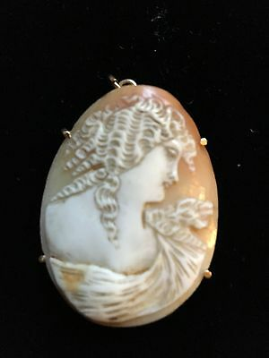 Antique Cameo of Woman's Profile