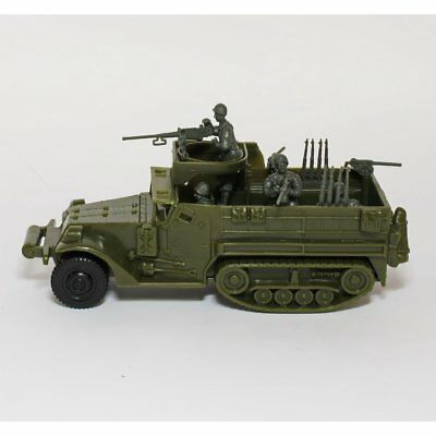 BMC Toys 1:32 CTS706A Plastic American M3 Half-track - Green - Play or Paint