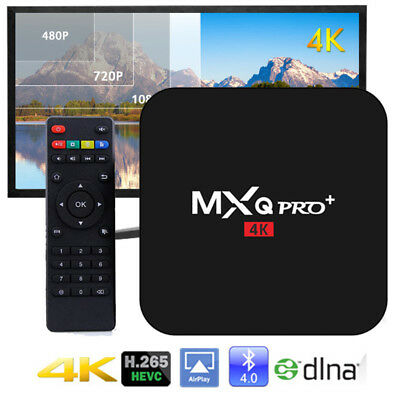 MXQ PRO + 4K Amlogic S905 2.0GHz Quad Core 2G+16G Android Smart TV Box HDMI