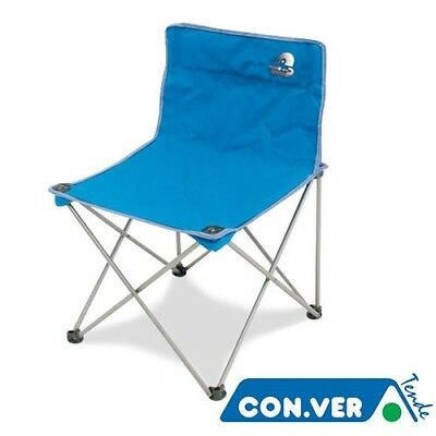 Folding Chair STORM CONVER Iron With Shoulder Bag Camping Camping Sea Beach