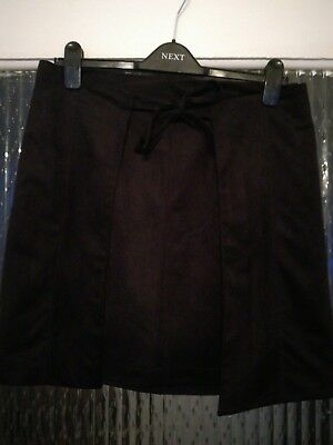 Oliver Bonas suede feel wrap skirt uk 12
