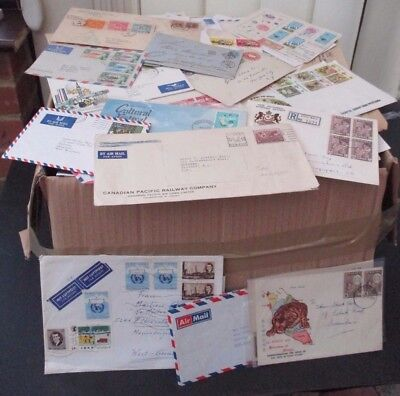 Large Box Of Europe/gb & World Covers - All Periods - 2000+