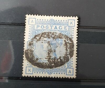 Gb Stamps Queen Victoria Sg 183 10S Ultramarine Used