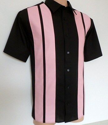 New ** Mens Rockabilly 1950's Retro Vintage Style Shirts